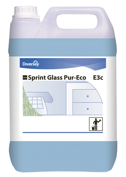Glas- og vinduesrengøringsmiddel, Sprint Glass Pur-Eco